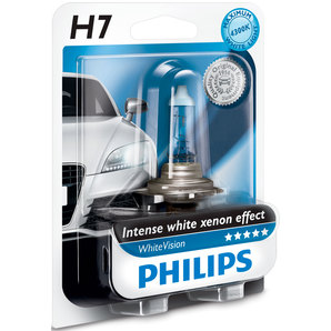 LAMPARA PHILIPS H7 WHITEVISION 12972WHVB1 1971365
