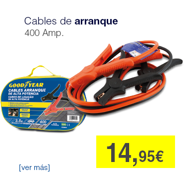 Cables de arranque